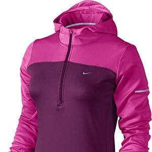 Nike Thermal Half-Zip Women's Running Hoodie